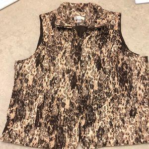 CJ banks 2X plus size camouflage vest light fall